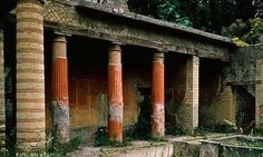 House of Telephus in Herculaneum, Italy, buried in 79 AD by Mt. Vesuivus is the first-ever full reconstruction of a Roman timber roof