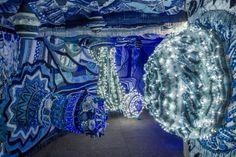 Joana Vasconcelos 'Trafaria Praia', Floating Portuguese Pavilion at Venice Biennale 2013 | Yellowtrace.
