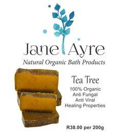Tea Tree 100% Organic Soap