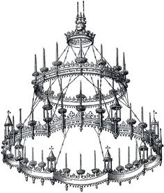 The Graphics Fairy: chandelier
