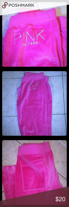 Victoria Secret Pants! Barely worn....perfect for lounging around or running errands!  Comfy! Victoria's Secret Pants