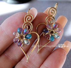 Wire Jewelry Tutorial Charming Hearts 2 by MyWiredImagination