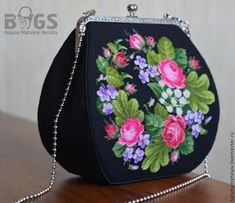 Beaded Purses, Beaded Bags, Bridesmaid Gift Bags, Painted Bags, Diy Clutch, Frame Purse, Embroidery Bags, Patchwork Bags, Handmade Bags