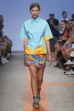 MSGM - Spring Summer 2014 Ready-To-Wear - Shows - Vogue.it