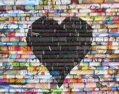 Mur d'art moderne art café art de la cuisine par LaurieBrownFineArt