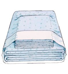 Never lose a pillowcase again! Here's how: If the clean set isn't going directly onto a bed, fold and stash it in one of the pillowcases to keep everything together.   - Redbook.com