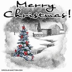 I want to share this Merry Christmas Snow Christmas picture from Dazzle Junction with you.  Click to see it larger.
