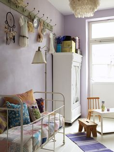 soft & eclectic kids' rooms