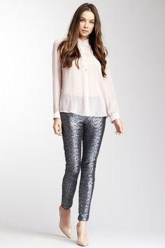 Bardot Sequin Pant on HauteLook