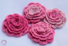 Crochet Necklace, Knitting, Rose, Projects, Blog, Crafts, Accessories, Henna, Crocheting