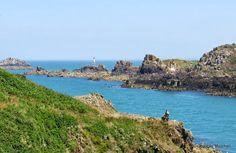 La Pointe du Grouin, Ille et Vilaine, Bretagne, France