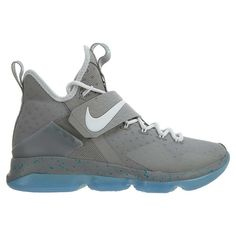 25d5033c00ee Details about Mens Nike Lebron XIV 14 Basketball Shoes Size 10 Grey Reflect  Silver 852405 007