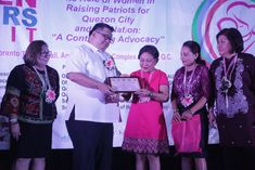 Senate Committee on Women, Children, Family Relations, and Gender equality member Cynthia Villar lauded Quezon City for having more women leaders during the Quezon City Non-Government Organization Family Relations, Quezon City, Manila, Equality, News, Children, Women, Social Equality, Young Children