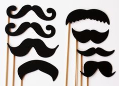 Because what party doesn't benefit from a Mustache On a Stick?