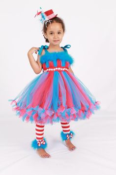 Dr. Suess costume, Thing 1 or 2
