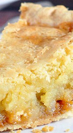 Macadamia Nut Butterscotch Cookie Pie