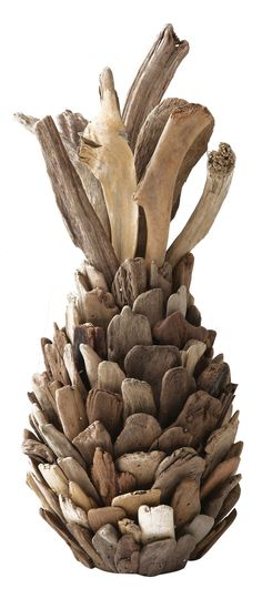 Features: -Pure collection. -Material: Driftwood. Product Type: -Sculpture. Style: -Modern. Subject: -Home decor and furniture. Age Group: -Adult/Child/Teen. Finish: -Tan. Dimensions: Overall