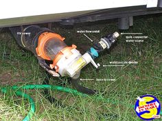 Sewer Solution - the better RV black tank disposal sewer system Rv Campers, Camper Trailers, Sewer System, Water Powers, Water Sources, Water Flow, Black Tank, Motorhome, Tips
