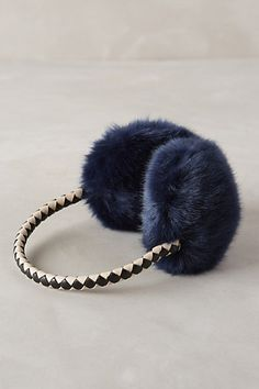 Faux-Fur Earmuffs - anthropologie.com