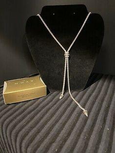 Avon Silvertone Lariat Necklace A1 | eBay Lariat Necklace, Arrow Necklace, Pendant Necklace, Avon Fashion, Ebay Sale, Silver Necklaces, Sterling Silver, Chain, Detail