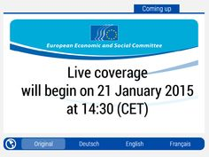 DOCUMENT: http://www.powerwatch.org.uk/news/2015-01-20-eesc-final-opinion.pdf European Recognition of EHS  (Electrohypersensitivity, Electromagnetic hypersensitivity) Plenary Session - Brussels, Belgium http://www.eesc.europa.eu/?i=portal.en.events-and-activities-504-plenary-session-webstream MORE ABOUT THIS PROCEEDING: http://www.powerwatch.org.uk/news/2015-01-20-eesc-final-opinion.asp Links an excellent new document on RF fields and health by Dr Leendert Vriens.