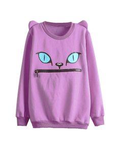 Cat Ear Sweatshirt