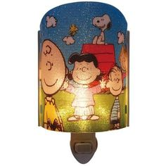 Peanuts Charlie Brown Snoopy Lucy And Linus Nightlight