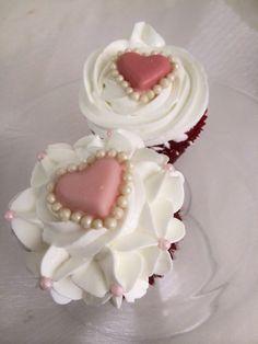 San valentine cupcakes