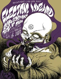 Electric Wizard Poster Christophe Lenté