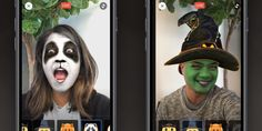Facebook Has Halloween Snapchat-Like Filters For Live Video
