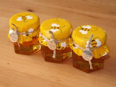Set of 12- 2oz. Honey Jar Favors- Wedding, Bridal Shower, Baby Shower Favors- Bee Themed Party Favors- Winnie the Pooh Favors by JirehCraftyCreations on Etsy https://www.etsy.com/listing/189212489/set-of-12-2oz-honey-jar-favors-wedding