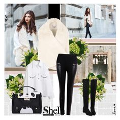 """""""Shein 9"""" by followme734 ❤ liked on Polyvore featuring STELLA McCARTNEY, women's clothing, women's fashion, women, female, woman, misses, juniors and Sheinside"""