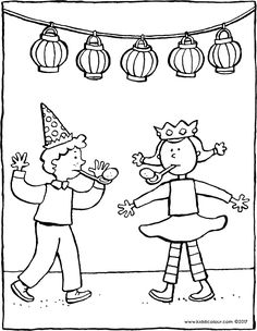 fête d'anniversaire - coloriage - dessin - image à colorier Beautiful Birthday Cards, Elegant Birthday Party, Birthday Coloring Pages, Coloring Pages For Kids, Egg And Spoon Race, Today Is Your Birthday, Animal Masks, Colorful Party, Little Star