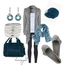 """""""Glitz and Gray"""" by heismygod on Polyvore"""