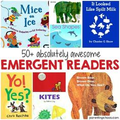 Awesome Emergent Readers for Kids