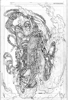 Ghost Rider by Kevin Sharpe