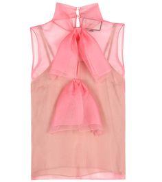 GUCCI Silk Blouse. #gucci #cloth #tops