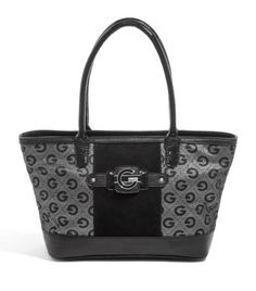 G by GUESS Dashonnie Metallic Logo Tote