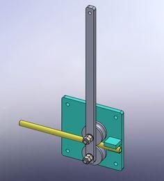 <p>Станок трубогибочный предназначен для гибки трубы ф25мм радиусом 100мм. Станок крепится к любому столу посредством болтового соединения.</p>