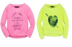 NWT Ralph Lauren Girls Cotton Neon Sweatshirt Pullover Sweater #RalphLauren #Everyday