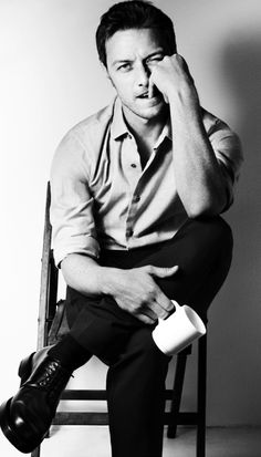 McAvoy. His face is infinitely fascinating. I already posted him but I am clearly obsessed.