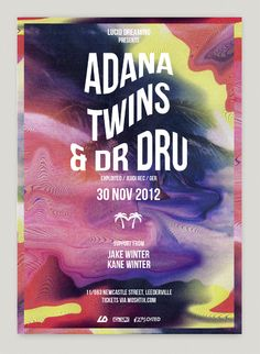 Posters Events by Pyramid Studio , via Behance