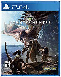 Monster Hunter World Playstation 4 Standard Edition Monster Hunter World Monster Hunter Monster Hunter Series