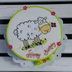 Sheep cake  Birthday cake  Schaftorte  Geburtstagstorte