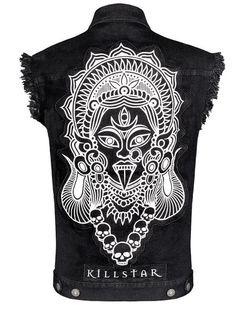 KALI BLACK DENIM VEST, omg...I want this!!!