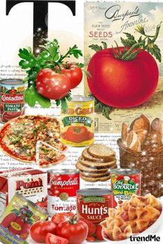 T is for Tomato - Combinaciónde moda