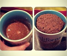 Flaxseed Mug Muffin - The Kitchen Table - The Eat-Clean Diet®