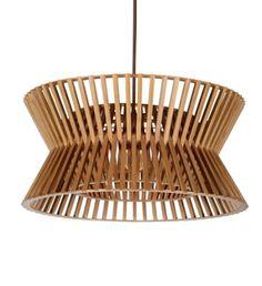 Závěsné stropní svítidlo CIRCULO, dřevěné | claro. - inspirováno přírodou
