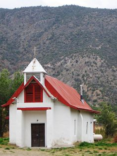 Church at Pilar, NM