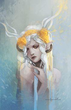 changelingsandothernonsense,Гиланнайн,эльфийский пантеон,Dragon Age,фэндомы